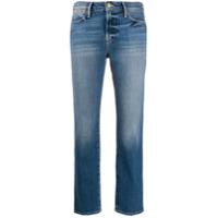 Frame Calça Jeans Reta Sustainable Le High - Azul