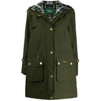 Barbour Icons Durham Hooded Parka - Verde