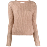 Masscob Suéter Decote Arredondado - Neutro