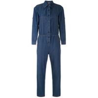 Amapô Macacão Jeans Worker - Azul