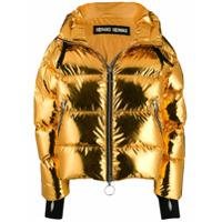 Ienki Ienki Jaqueta Matelassê Metalizada - Dourado