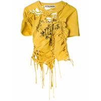 Ottolinger Camiseta Mangas Curtas - Amarelo