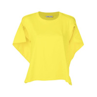 Aalto Sleeveless Flared Top - Amarelo