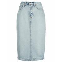 Wardrobe.nyc Saia Jeans Midi X Levi's - Azul