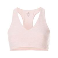Alo Yoga Top Espotivo Gola V - Rosa