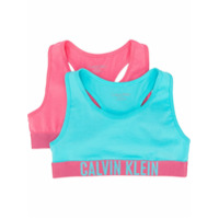 Calvin Klein Kids Tops Cropped - Roxo
