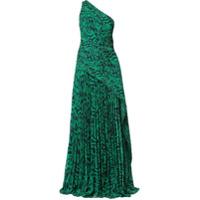 Solace London Vestido Emelyne Longo - Verde