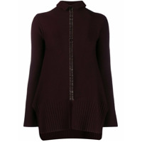 Pierantoniogaspari Safety Pin Embellished Sweater - Roxo