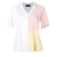 Sport Max Code Colour-Block T-Shirt - Branco