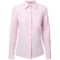 Michael Kors Collection Camisa Clássica - Rosa