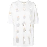 Ottolinger Camiseta 'burnt Holes' - Branco