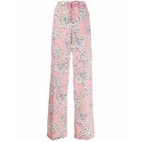 Liu Jo Calça Com Estampa Floral - Rosa