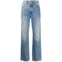 Slvrlake Calça Jeans Reta - Azul