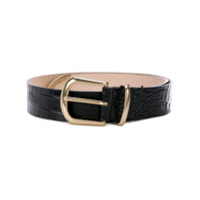 B-Low The Belt Cinto Texturizado Com Fivela - Preto