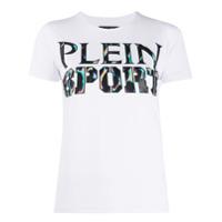 Plein Sport Camiseta Com Estampa De Logo - Branco