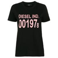 Diesel Camiseta T-Sily Com Estampa De Logo - Preto