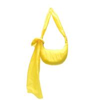 Red(V) Bolsa Tiracolo Com Laço - Amarelo