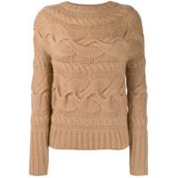 Ralph Lauren Collection Suéter De Tricô - Neutro