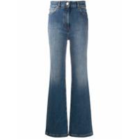 Versace Calça Jeans Flare Com Efeito Desbotado - Azul