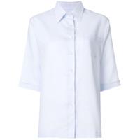 Holland & Holland Camisa Cropped - Azul