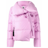 Bacon Oversized Collar Down Jacket - Rosa