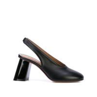 Marni Sapato Com Fixação No Tornozelo - Preto