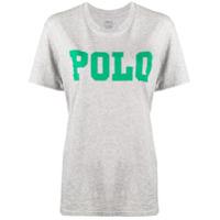 Polo Ralph Lauren Logo Print T-Shirt - Cinza