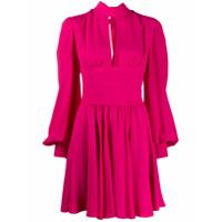 Brognano Vestido Mini Com Pregas - Rosa