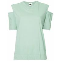 Bassike Camiseta Com Recorte Nas Mangas - Green