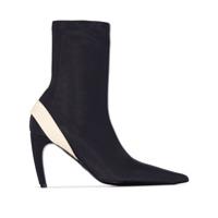 Proenza Schouler Ankle Boot Com Stretch - Preto