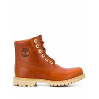 Timberland Lace-Up Ankle Boots - Laranja