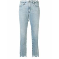 Ag Jeans Calça Jeans Isabelle Cropped Cintura Alta - Azul