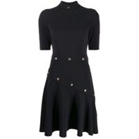 Versace Jeans Couture Vestido Cadi Aladin - Preto