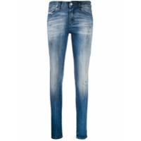 Diesel Calça Jeans Skinny Cintura Média - Azul