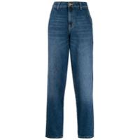 Essentiel Antwerp Calça Jeans Cenoura Thursty Com Cintura Alta - Azul