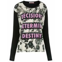 Tig T- Shirt 'decisions' - Preto