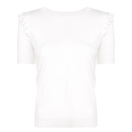 Imagem de Kate Spade Blusa de tricô slim - Branco