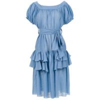 Clube Bossa Vestido 'florenz' Com Babados - Azul