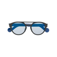 Moncler Eyewear Óculos De Sol - Azul