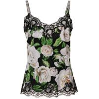 Dolce & Gabbana Underwear Blusa Com Estampa Floral - Hn09C Rose Bianche F.nero