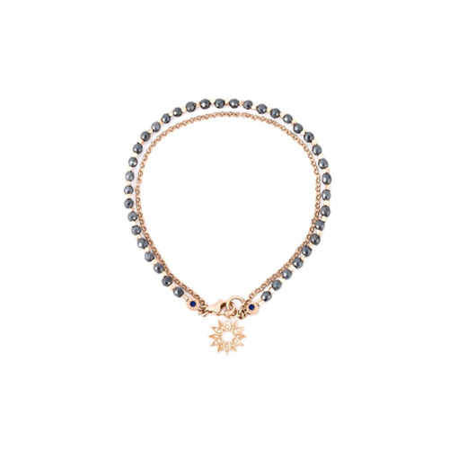 Imagem de Astley Clarke Pulseira 'Sun Biography' com diamantes - Metálico