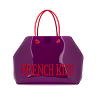 Alberta Ferretti French Kiss Large Tote - Roxo
