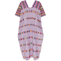 Pippa Holt Vestido Kaftan Com Bordado - 108 - Multicoloured