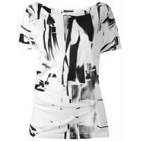 Ann Demeulemeester Camiseta Mangas Curtas - Branco