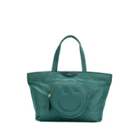 Anya Hindmarch Bolsa Tote 'smiley' - Verde