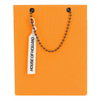 House Of Holland Bolsa Tote 'ballchain' - Laranja