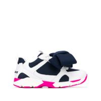 Joshua Sanders Bow-Detail Sneakers - Azul