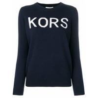 Michael Michael Kors Suéter Com Logo - Azul