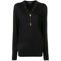 Dolce & Gabbana Suéter De Tricô - Preto