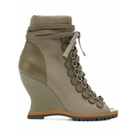 Chloé Ankle Boot 'river' - Verde